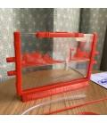 ANT FARM petit modele rouge HABITAT FOURMIS PM 22 5 X 15CM