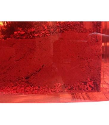 Feuille PVC transparente rouge Format A4